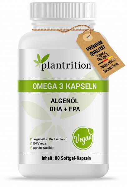 Plantrition Vegan Omega 3